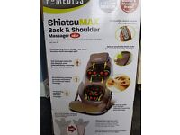 Homedics Shiatsu Max Back Massager with Heat
