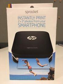 HP Sprocket 100 Black New £100