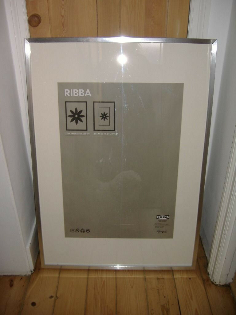 TWO IKEA RIBBA 100x70 PICTURE FRAMES | in Whitchurch, Cardiff | Gumtree