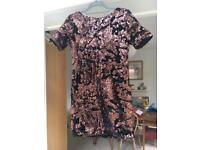 Topshop mini sequin dress size 10