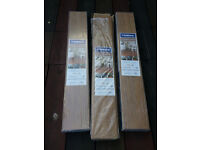 3 packs of laminate flooring