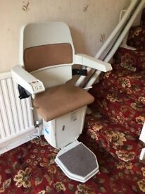 Left Hand Curve Stairlift