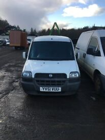 FIAT DOBLO ALL PARTS AVAILABLE