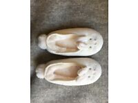 Bunny slippers little white company