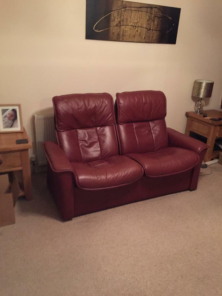 Marvelous Erkoness Stressless Recliners Sofa In Crossgates West Yorkshire Gumtree Unemploymentrelief Wooden Chair Designs For Living Room Unemploymentrelieforg