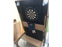 BCE 6FT Pool Tennis Table Dartboard & Balls