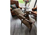 Edwardian Recliner Chair