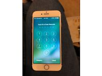 Unlocked rose gold iPhone 7 32gb immaculate condition