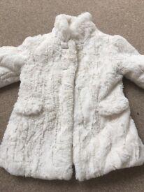 Girls age 2-3 Autograph faux fur jacket