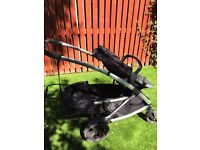 Phil and Teds Promenade double pushchair. Excellent condition