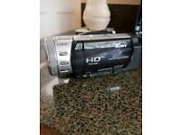 Sony HD camcorder with spare battery