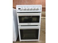 Hotpoint EW48P 50cm Free Standing Electric Cooker