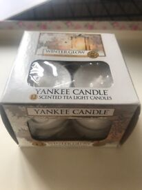 Yankee Candle tealights - Winter Glow