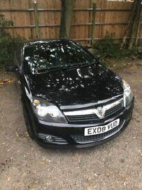 Vauxhall Astra 2008 Black 3 door 1.6
