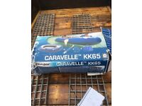 Caravelle kk 65 dingy complete with oats pump this is a two person dingy
