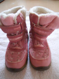 Girls Pink Snow/winter boots from NEXT size UK 2