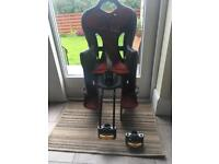 Hamax childs rear bike seat with an extra set of adapters. Excellent condition. Bishopbriggs.