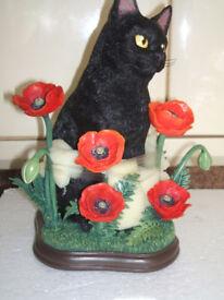DANBURY MINT BLACK CAT