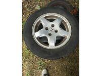 Honda Alloy Wheels 14 Inch 4 Stud