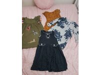 Immaculate condition girls age 3 dress bundle