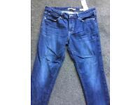 "Levi's 711 skinny jean 30"" waist 31"" leg"