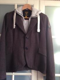 Superdry tweed hunting jacket