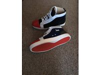 louboutin blue and red NEW size 8 uk or 42 euro size