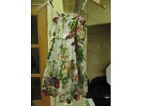 Gorgeous girls summer dress. By Ada Gatti. Aged 6 years old. 100% cotton. Grab a bargain.More stuff