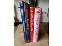 Cook books x4