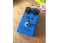 MXR Blue Box - Guitar Fuzz and Octave Effects Pedal