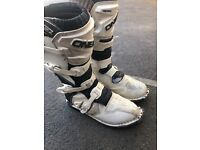 Oneal motorcross boots size 10