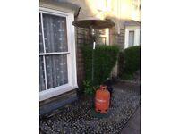 Gas Patio Heater with EMPTY 13kg Propane Bottle & Regulator