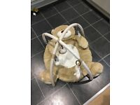 Mother care teddy bear play gym