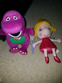 Barney and Holly