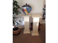 Display plinths (2)