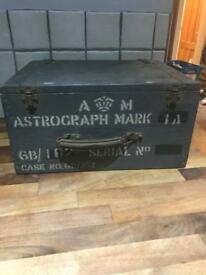 Lovely Vintage Wooden Storage Box