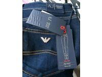 Women's armani jeans 32 waist 34 leg