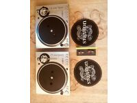 2 x Turntables Stanton str8-100 and ortofon stylus, like new In original box