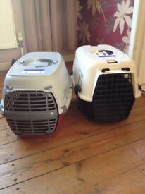 2 Cat Carrier Baskets for sale £10 each