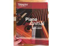 Trinity College Piano Initial Grade Book