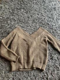 Michelle keegan slouchy jumper size 6-8
