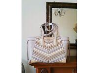 river island brand new beige large tote handbag