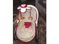3 in 1 baby chair, rocker and cot