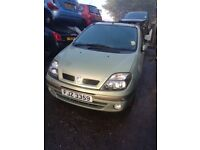 2001 RENAULT SCENIC 1.6 16V PETROL BREAKING FOR PARTS