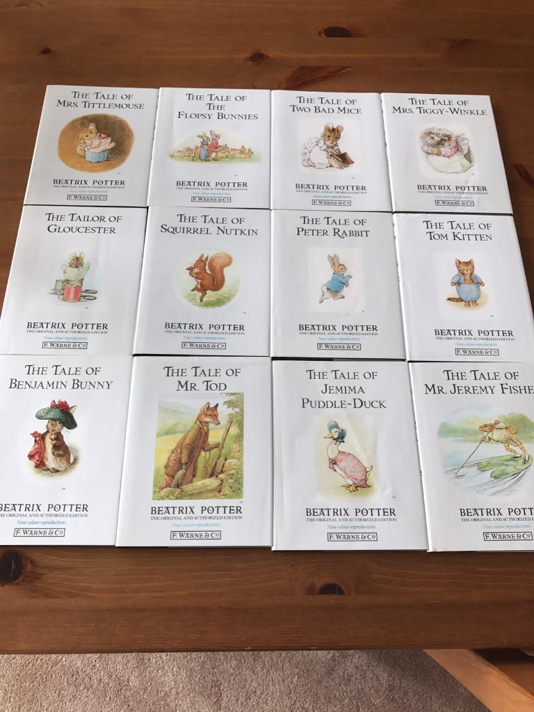 Booksin Wollaton, NottinghamshireGumtree - Beatrix Potter books 12 booksAll in excellent condition, never been read