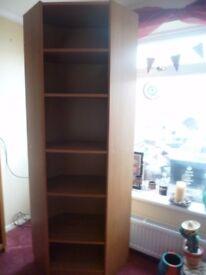 Ikea Billy Corner Shelving Unit. Oak Veneer. Excellent Condition