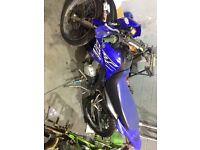Yamaha xt 125 2005 project mot learner legal kx yz rm ktm road legal moped motocross enduro 125cc