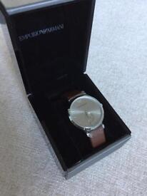 New Armani watch