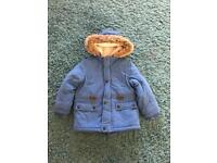 Boys winter jacket 3-4 years