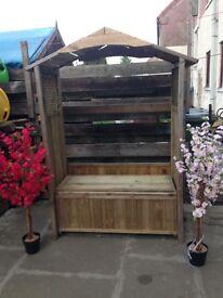 Dorset arbour garden bench